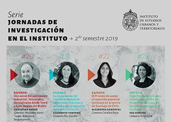 Ocho expositores participarán de las Jornadas de Investigación organizadas por el IEUT para el segundo semestre 2019