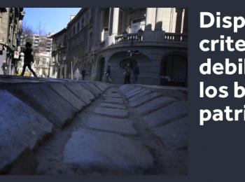 Dispersión de criterios: la debilidad de los barrios patrimoniales