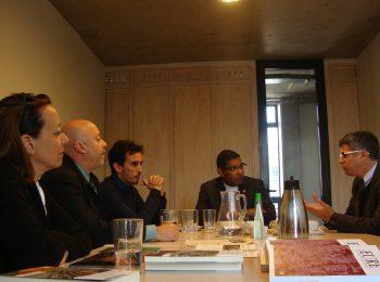 Director Luis Fuentes se reúne con Rector de la U. Católica de Salvador (Brasil) Padre Mauricio Da Silva