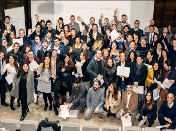 Instituto de Estudios Urbanos y Territoriales UC entrega Diplomas a alumnos de primer semestre