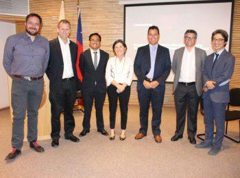 Director del Instituto de Estudios Urbanos UC participó en panel sobre crecimiento urbano junto a Ministra Minvu Paulina Saball