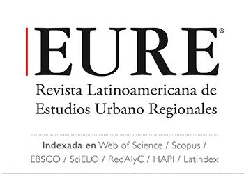 EURE es la revista chilena más citada en categoría Ciencias Sociales de la Web of Science