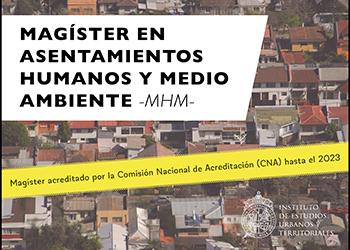 CNA acredita al Magíster en Asentamientos Humanos y Medio Ambiente hasta 2023