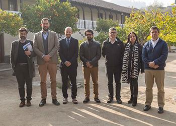 IEUT: Profesores del Núcleo de Investigación sobre Gobernanza y Ordenamiento Territorial se reunieron con el Jefe de Políticas Regionales y Rurales de la OCDE