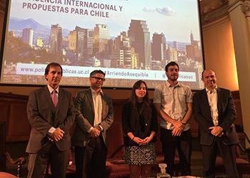 Director Luis Fuentes participó en seminario sobre administración de arriendo asequible junto al Ministro y Subsecretario MINVU
