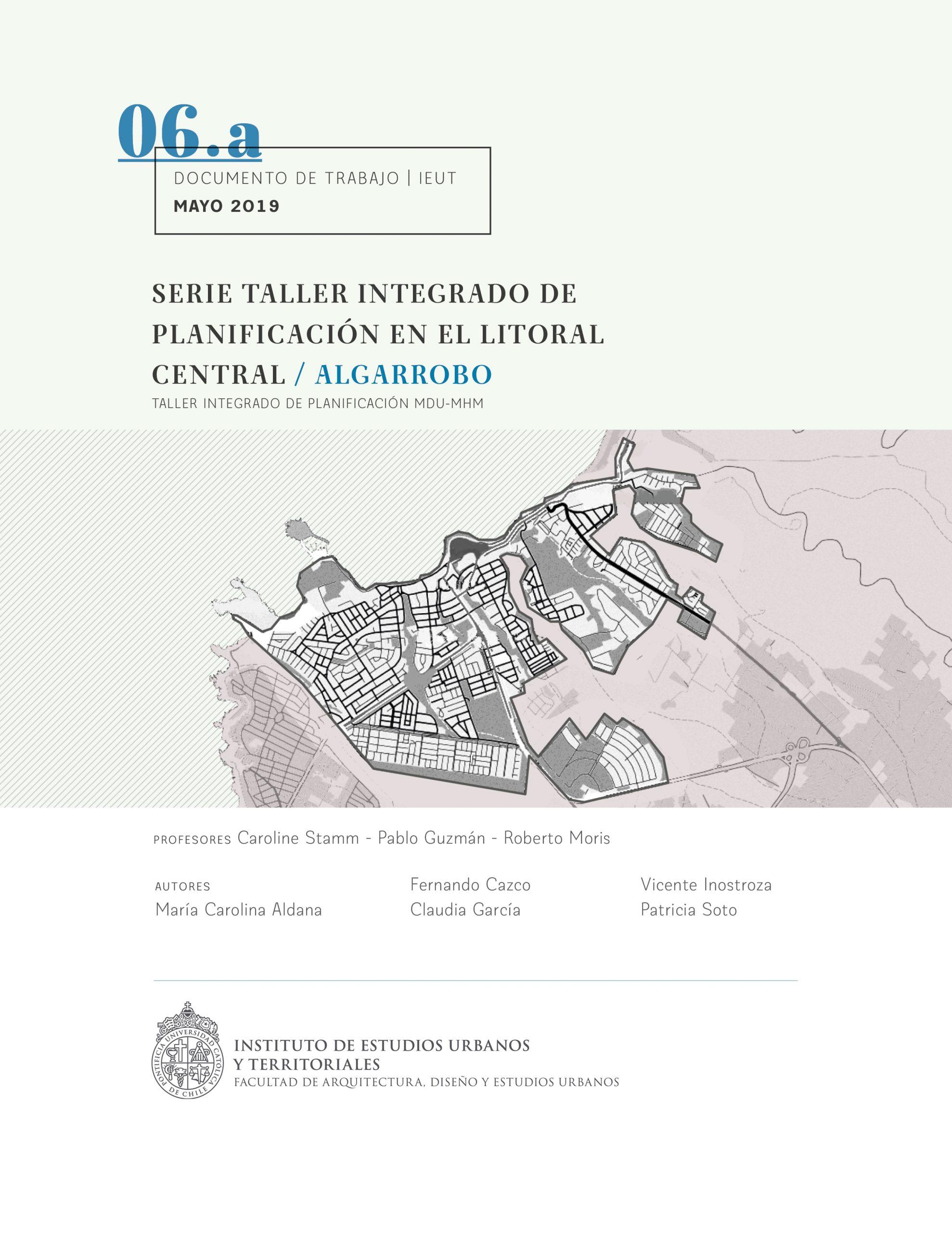 Serie Taller integrado de planificación en el Litoral Central | Algarrobo