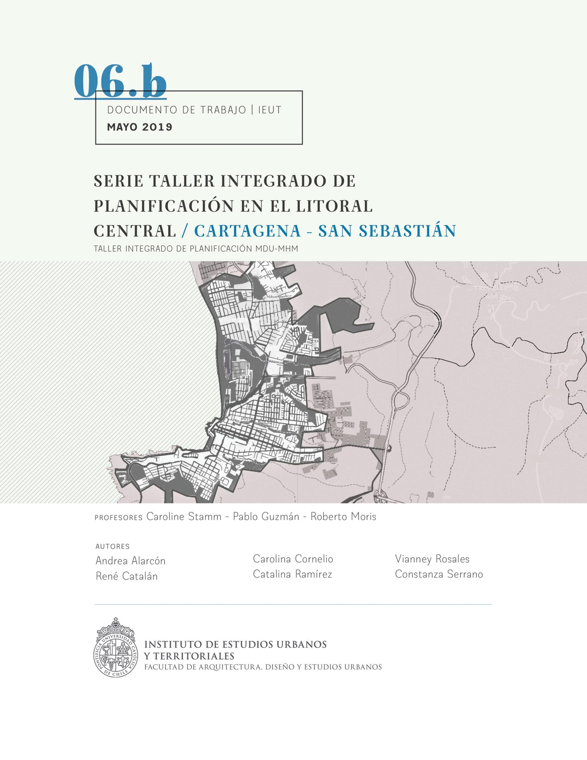 Serie Taller integrado de planificación en el Litoral Central | Cartagena – San Sebastián