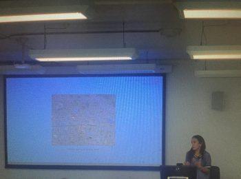 Profesora Macarena Ibarra se encuentra dictando clases como profesora invitada en la universidad de Sidney, Australia
