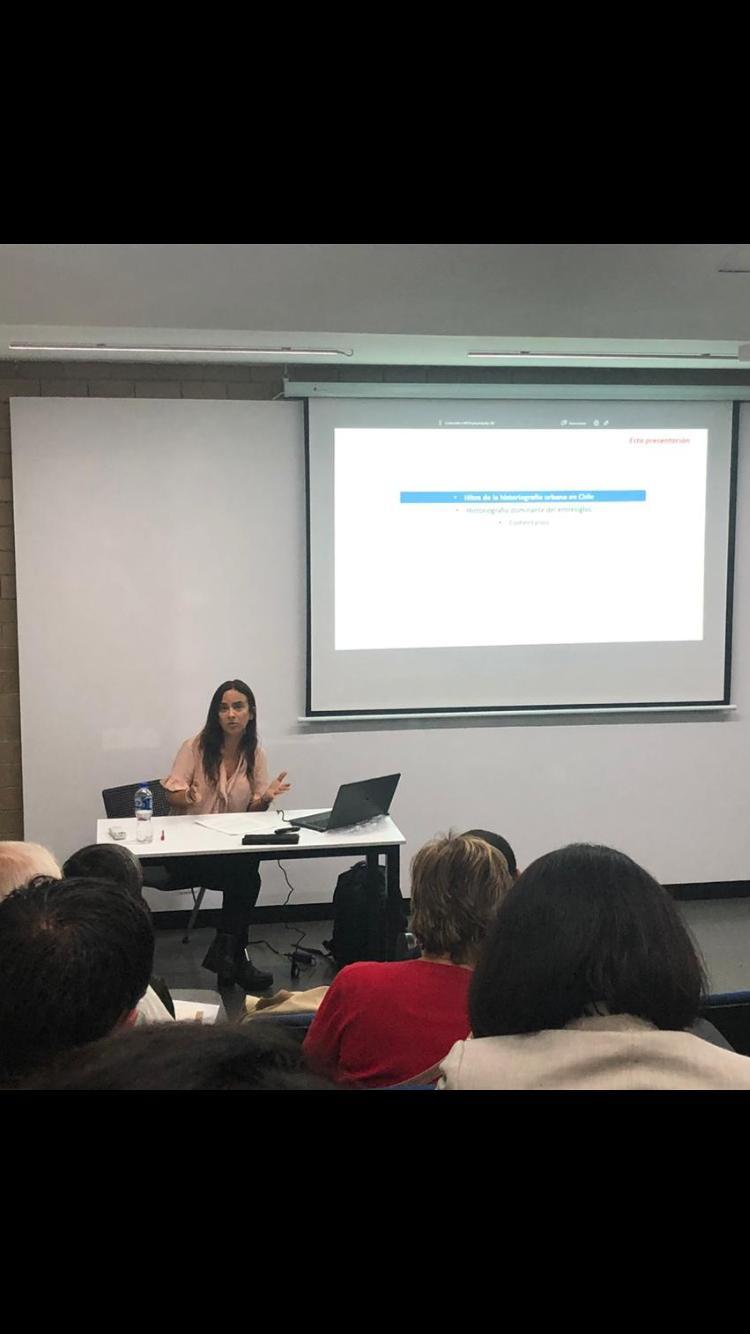 Profesora Macarena Ibarra presentó trabajo en el II Congreso Iberoamericano de Historia Urbana