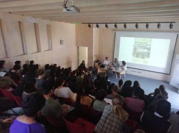 """Presidenta de la villa Marta Brunet de Bajos de Mena (Puente Alto) abrió los """"Diálogos para la Equidad Urbana"""" organizados por el IEUT"""