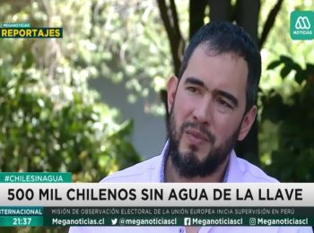 Mega (reportajes): Chile enfrenta la peor seguía de su historia, agricultores al borde de la quiebra