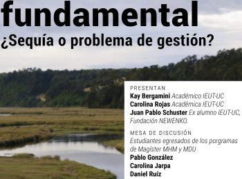 Seminario | El agua como derecho fundamental