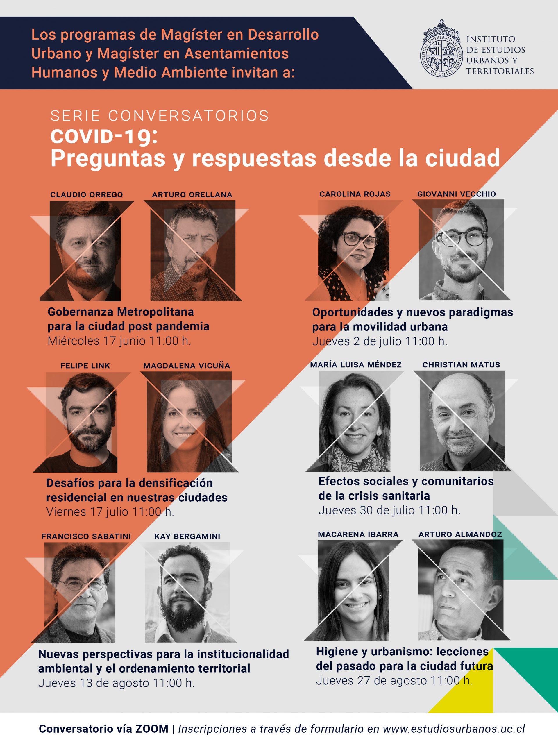 Magísteres IEUT convocan al diálogo y la reflexión con serie de conversatorios en torno al COVID-19