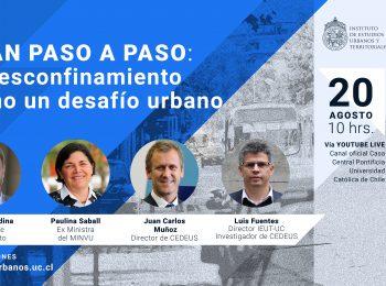 Seminario | Plan «paso a paso»: el desconfinamiento como un desafío urbano