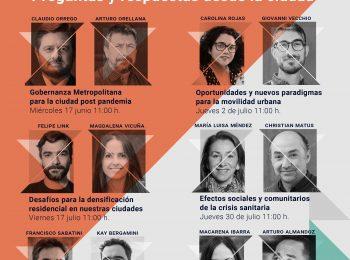 """Más de 400 personas participaron de la Serie """"COVID-19: Preguntas y respuestas desde la ciudad"""", organizada por el IEUT"""