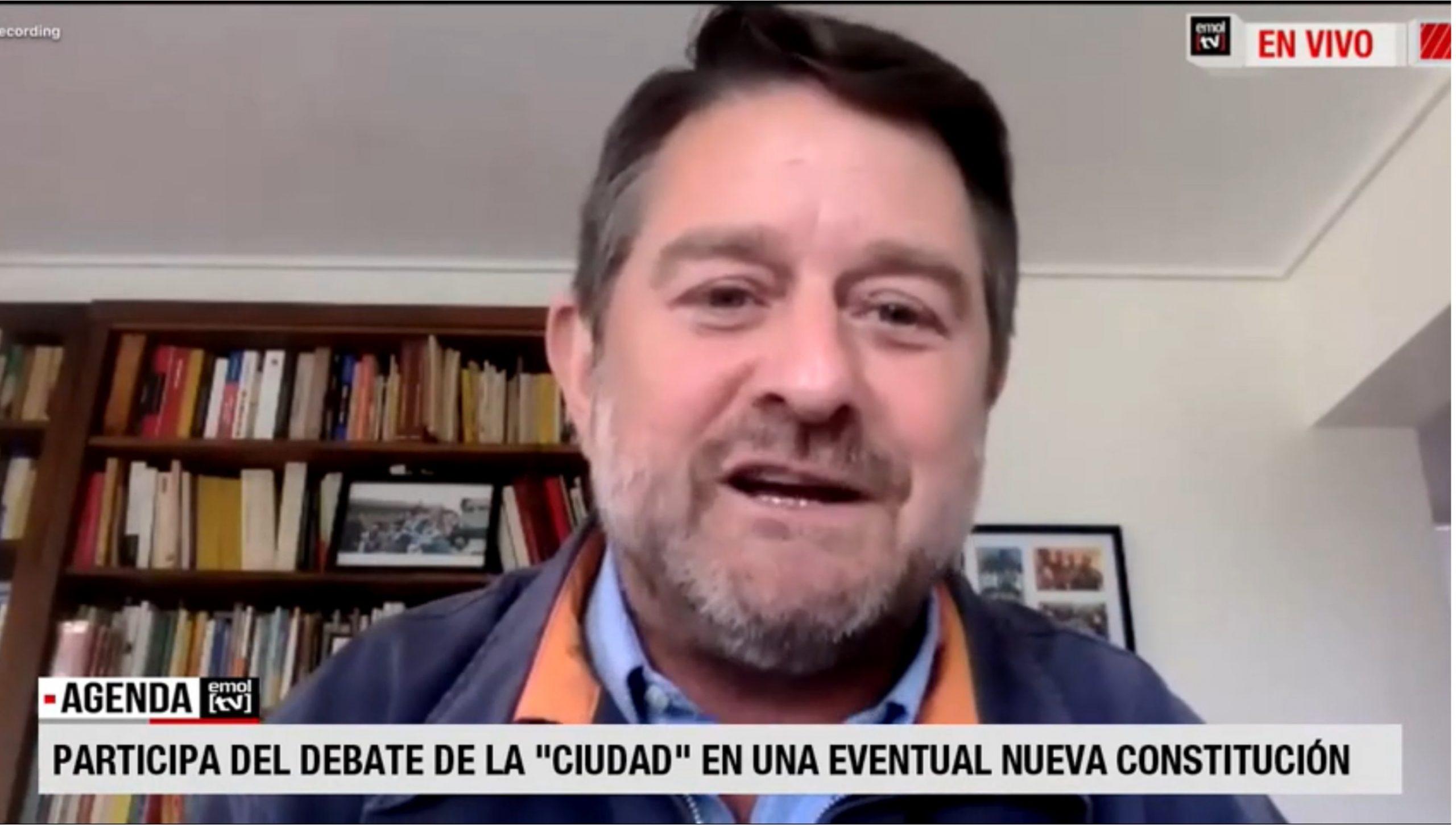 EMOL TV: ¿Cómo incluir los temas de ciudad en una eventual nueva Constitución?
