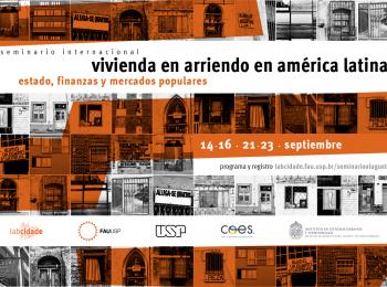 Participación en Seminario | Vivienda en arriendo en América Latina: estado, finanzas y mercados populares