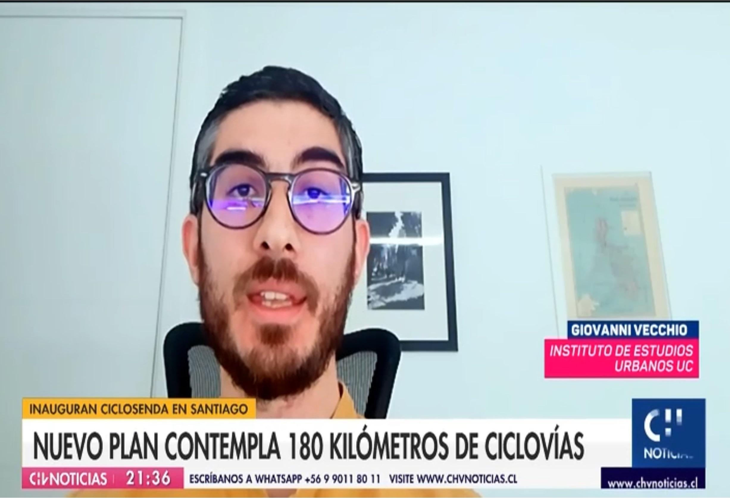 CNN y Chilevisión: inauguran 15 kilómetros de nueva ciclovía