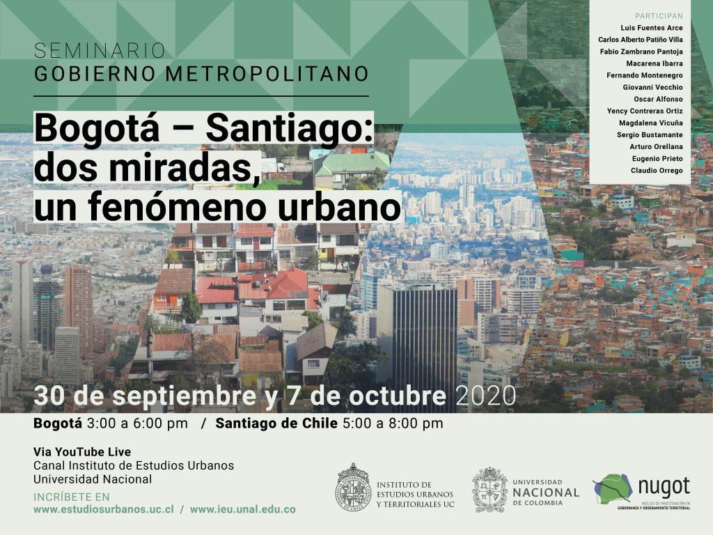 """Seminario """"Bogotá/Santiago"""" convocó a cientos de personas para hablar de ciudad"""