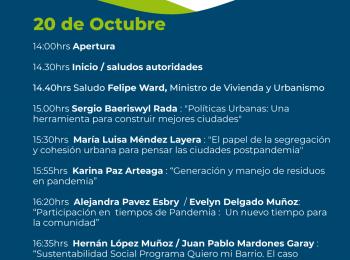 María Luisa Méndez participa del III Seminario Regional de Construcción Sustentable «Tiempo nuevo en la ciudad»