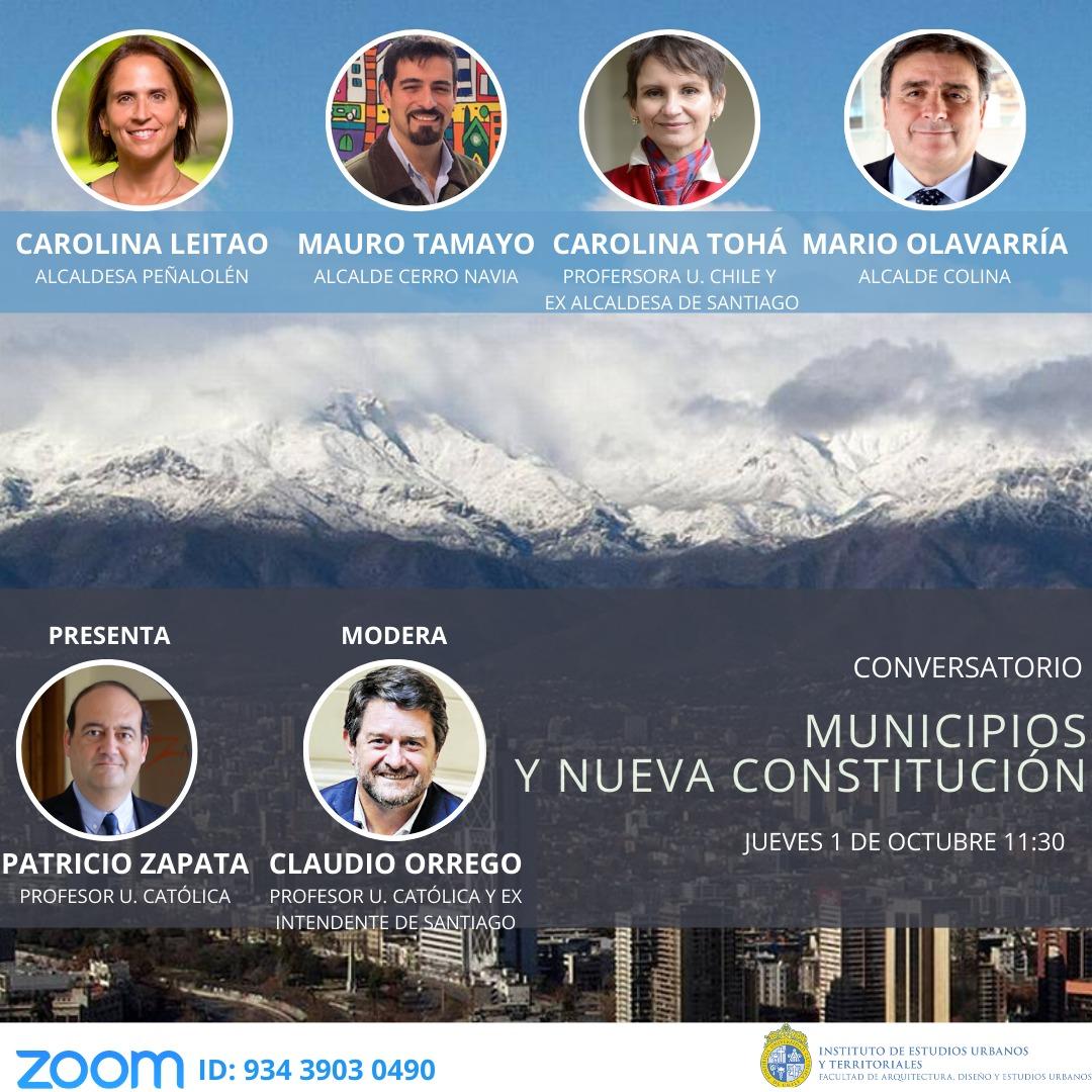 Conversatorio | Municipios y nueva constitución
