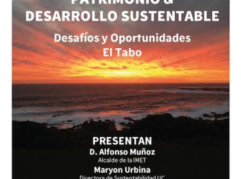 Profesor Kay Bergamini participó de Panel de diálogo sobre Desarrollo Sustentable & Patrimonio