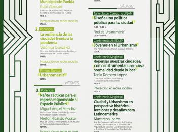 México: Profesora Ibarra dictará charla magistral en seminario internacional organizado por la Asociación Nacional de Estudiantes de Diseño Urbano, Urbanismo y Planificación