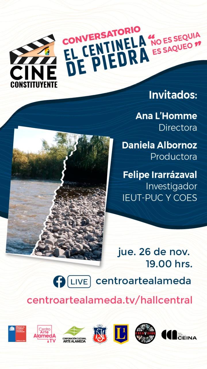 Conversatorio «El Centinela de Piedra: No es sequía, es saqueo»