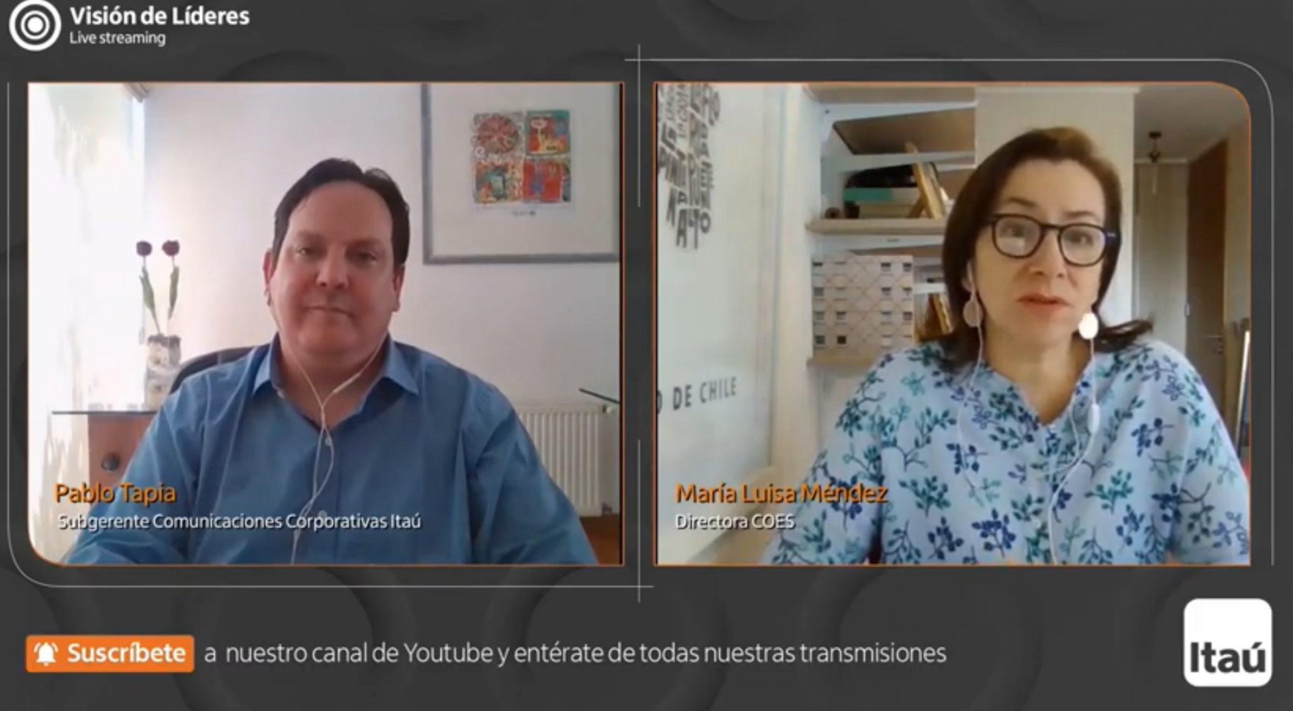 Profesora María Luisa Méndez: Los desafíos para lograr ciudades más inclusivas