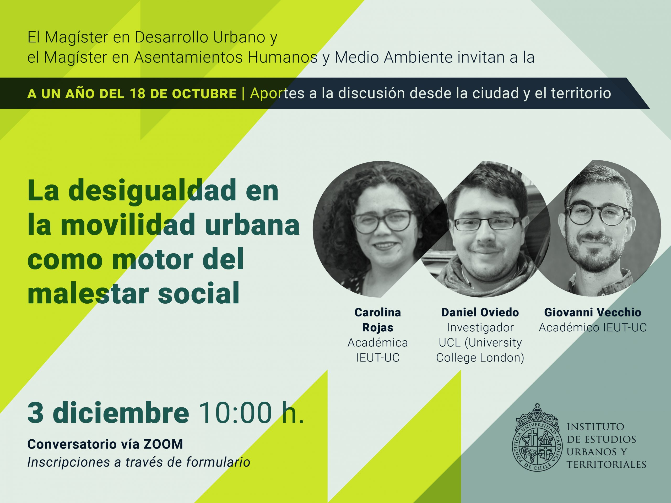 SERIE: A un año del 18 de octubre |  La desigualdad en la movilidad urbana como motor del malestar social