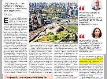 La Segunda: crece polémica por instalación del Nuevo Museo de Santiago (NUMU) en Vitacura