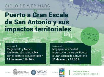 Guarda la fecha | Puerto a Gran Escala  de San Antonio y sus impactos territoriales