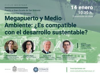 Ciclo webinar | Megapuerto y Medio Ambiente: ¿Es compatible con el desarrollo sustentable?