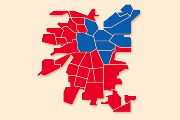 DF: Desigualdad territorial, un duro retrato de Chile