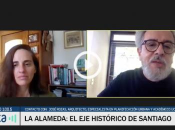 Radio Pauta | Alameda: el peso histórico y actual del eje de Santiago