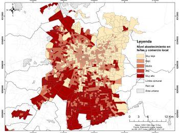 Desigualdad y territorio ante la polémica del delivery: Hablan los creadores del mapa del abastecimiento de alimentos en el Gran Santiago