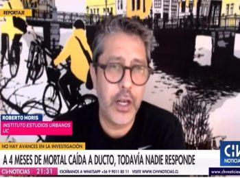 Chilevisión: Familia de hombre que falleció al caer en un ducto exige justicia