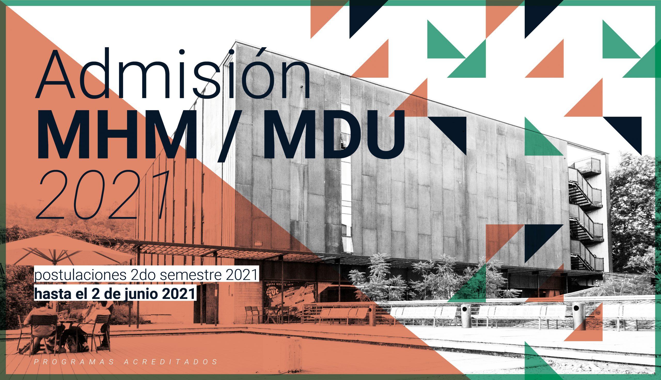 Cierre primer periodo de admisión | Miércoles 2 de junio.