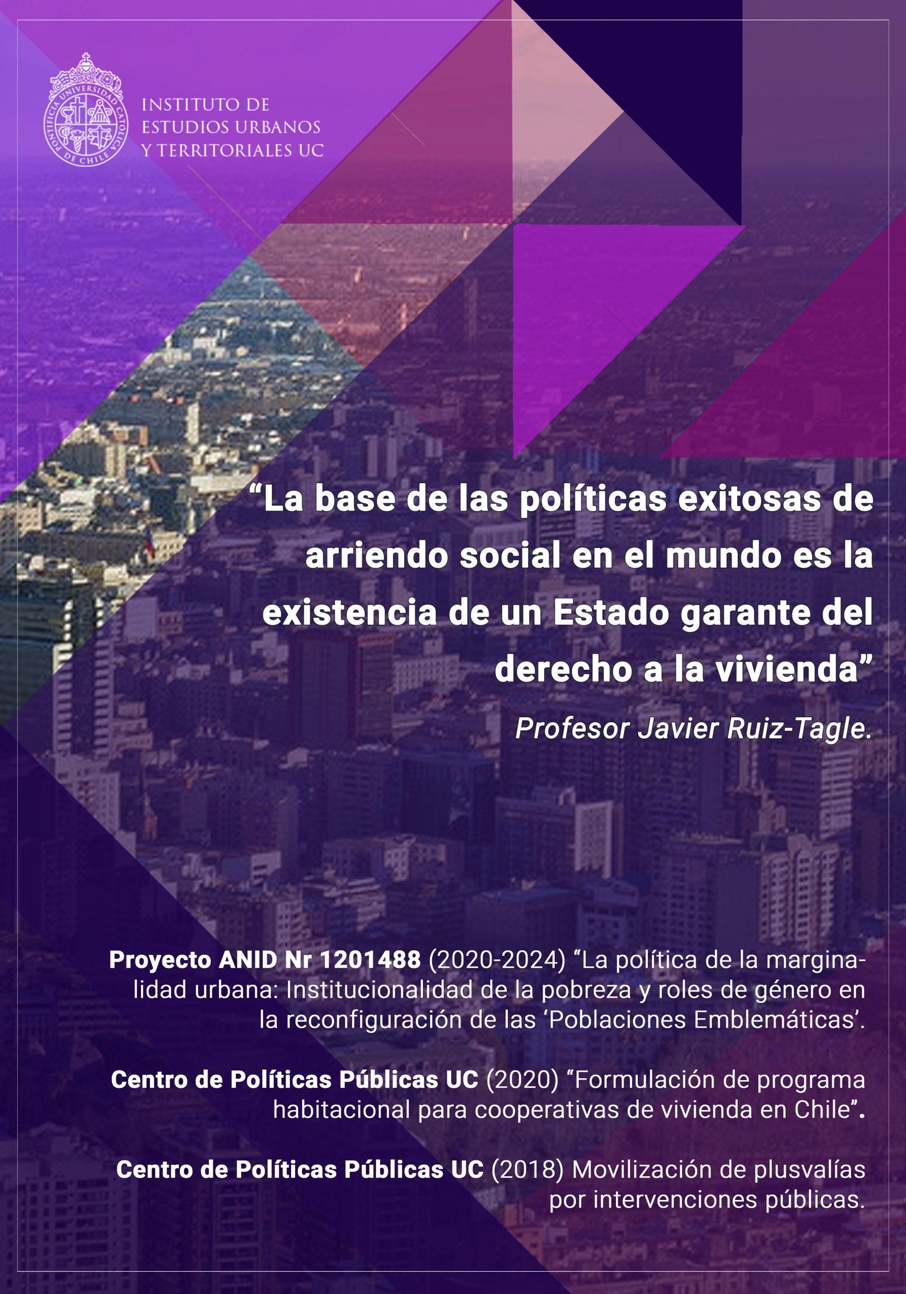 INVESTIGACIÓN | La vivienda, la marginalidad urbana y la necesidad de implementar políticas robustas de arriendo social en Chile.