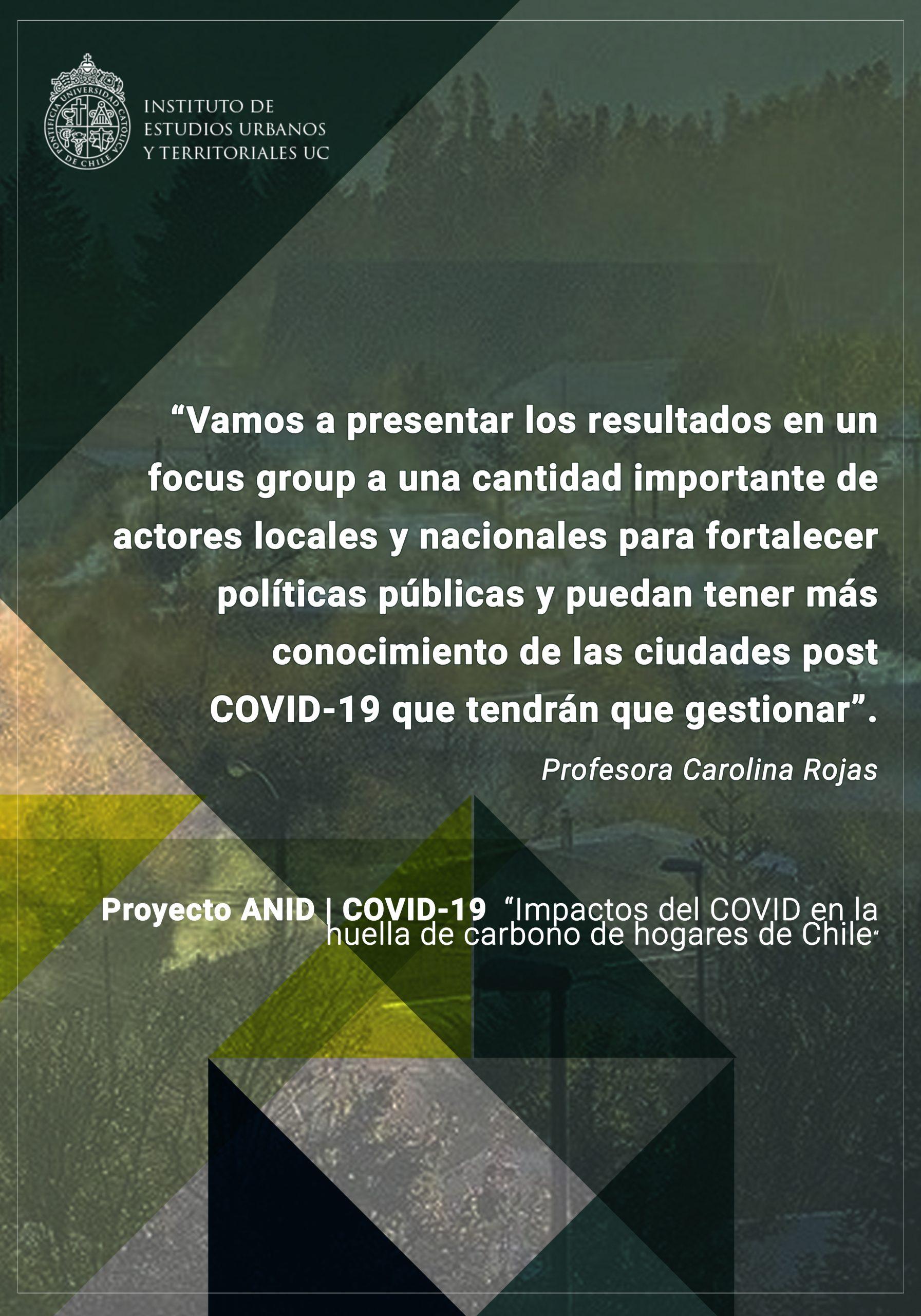 INVESTIGACIÓN | Proyecto ANID-Covid 19 en ciudades del sur de Chile, plantea la necesidad de mejoras en el transporte público y eficiencia térmica en viviendas.