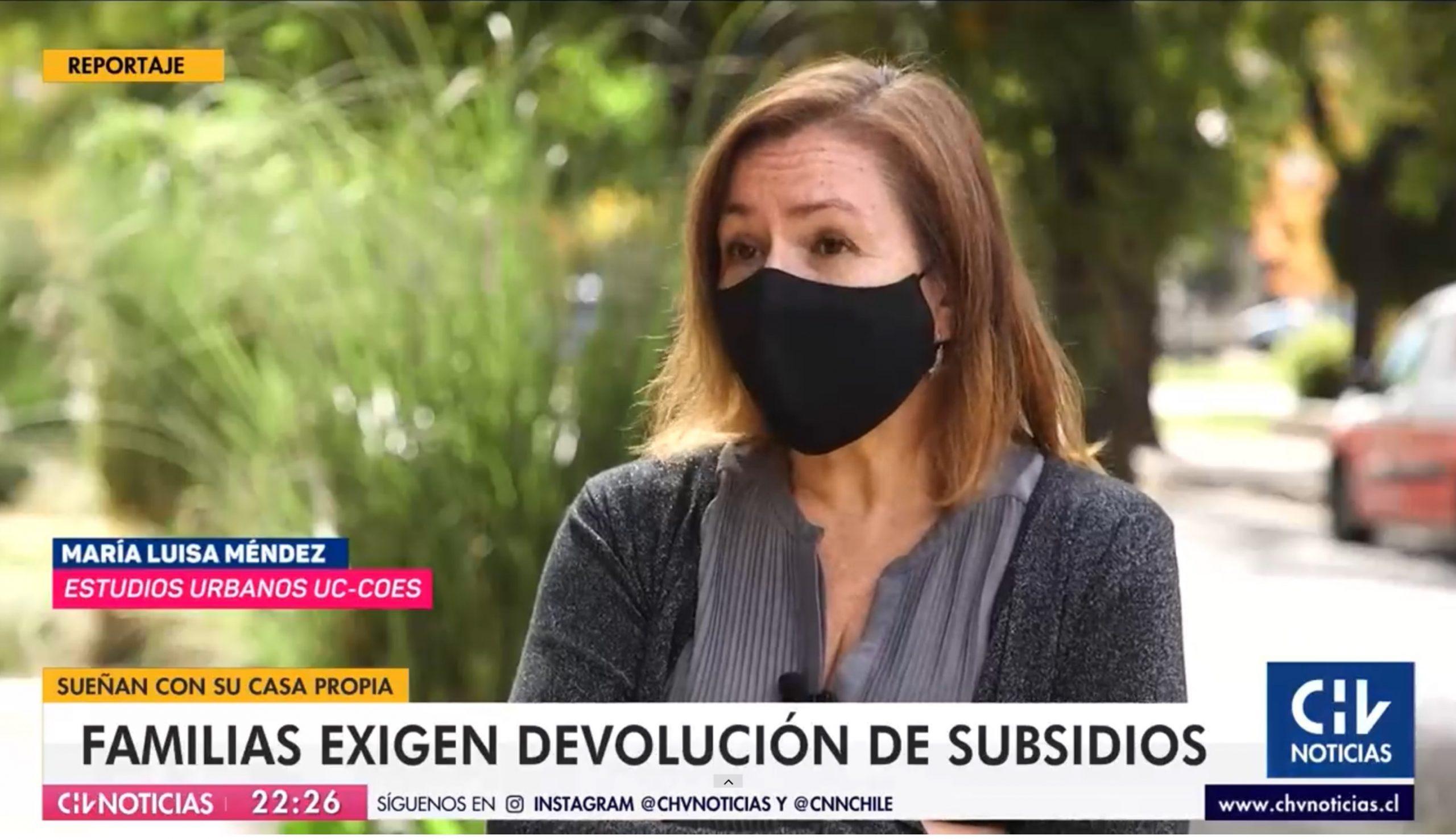 (CNN/Chilevisión) Familias exigen devolución de subsidios: Minvu asegura que ocurrió tras detección de inconsistencias