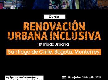 Triada Urbana realizará curso de postgrado simultáneo para Chile, Colombia y México