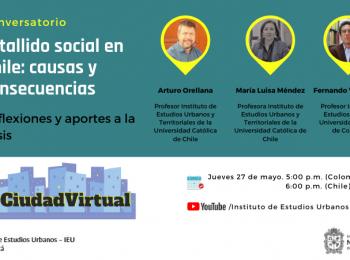 Conversatorio: Ciudad Virtual – IEU – UNAL
