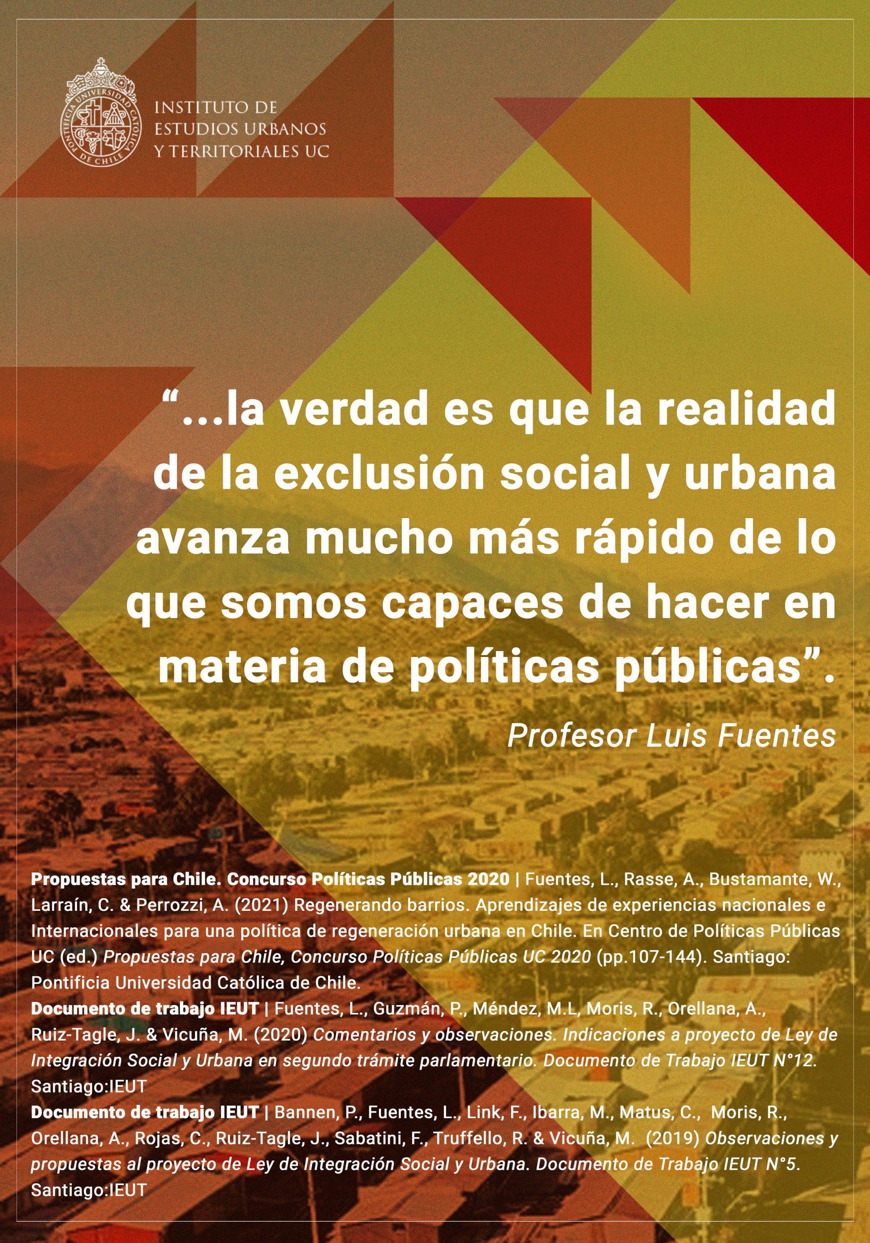 INVESTIGACIÓN I Las políticas urbano-habitacionales y el complejo tránsito desde el diagnóstico hacia las soluciones