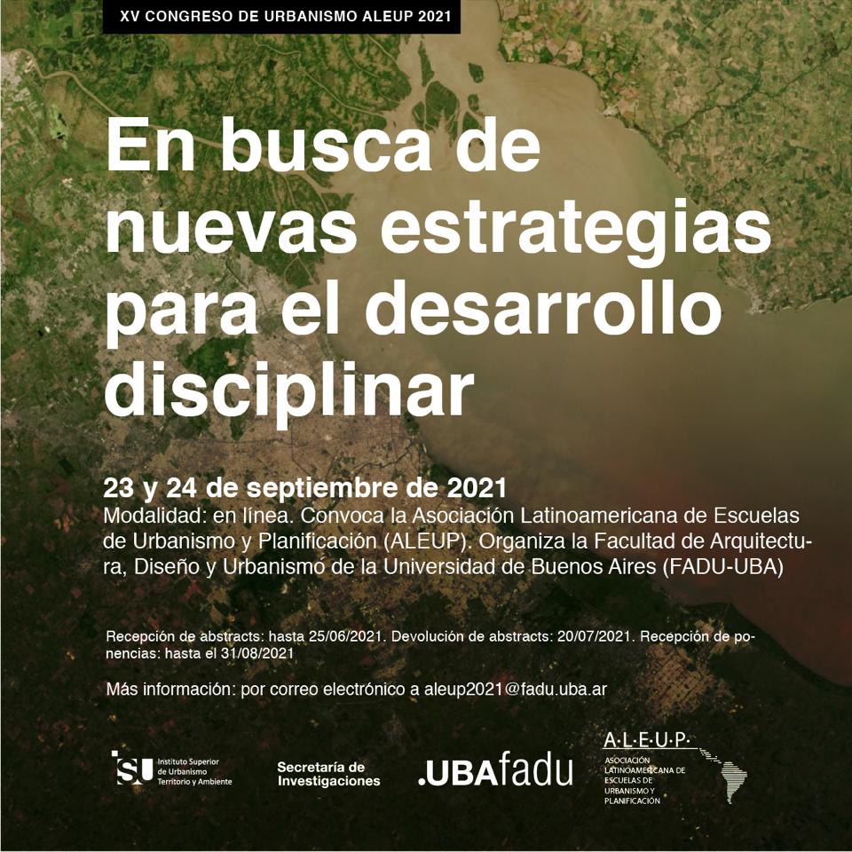 XV Congreso de Urbanismo ALEUP 2021