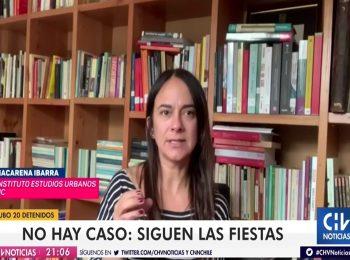 CNN Chile y CHV: Una veintena de personas fueron detenidas por participar de reuniones sociales y fiestas clandestinas