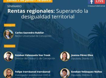 Rentas regionales: Superando la desigualdad territorial