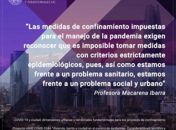 INVESTIGACIÓN | COVID-19 y ciudad: dimensiones urbanas y territoriales fundamentales para los procesos de confinamiento