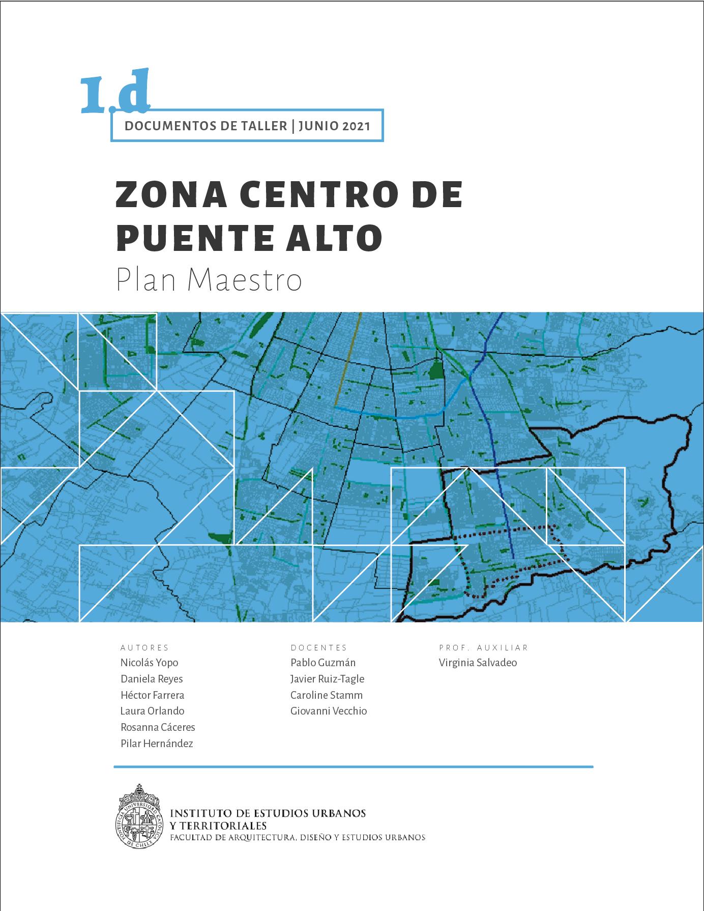 1d. Zona centro de Puente Alto | Plan Maestro