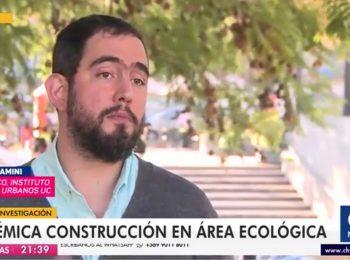 CNN Chile: Crece polémica por futuro desarrollo inmobiliario en área ecológica de Lo Barnechea